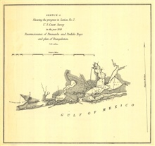 Annual Report 1849. Sketch G.  Reconnoissance of Pensacola andPerdido Bays and plan of Triangulation.