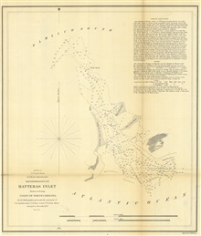 Annual Report 1850. D No. 3.  Reconnoissance of Hatteras Inlet Harbor ofRefuge Coast of North Carolina.