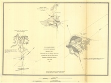 Annual Report 1851. Sketch B. No. 5 Proposed sites for Range Beacons toindicate Main Ship and Swash Channels Entrance of New York Harbor
