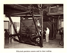 50-inch precision camera used in chart making. In: The Coast and GeodeticSurvey: Its Products and Services, 1965.  57 pp.