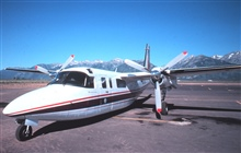 Rockwell Turbo Commander on the tarmac.