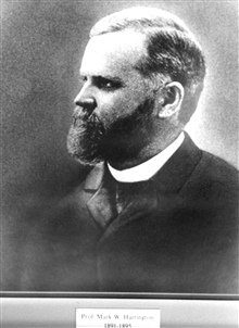Professor Mark W. Harrington, head of the weather service 1891-1895.