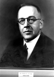 Dr. Willis L. Gregg, head of the Weather Bureau 1934-1938.