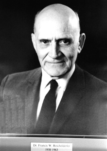 Dr. Francis W. Reichelderfer, head of the Weather Bureau 1938-1963.