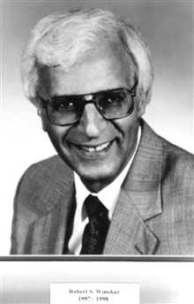 Robert S. Winokur, head of the National Weather Service, 1997-1998.