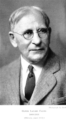 Oliver Lanard Fassig, 1860-1936.  Climatologist, hurricane forecaster,librarian for the Weather Service.