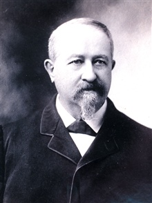 Clarence Edward Dutton, famous geologist of the late Nineteenth Century.  Anoriginator of the Theory of Isostasy, an early seismologist, and the first tohead the USGS division of volcanic geology.  (1841-1912.)