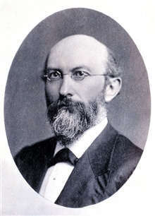 Dr. James C. Welling, President of Columbian University during the period 1871-1894.  Introduced a school of sciences to the university that ultimately becameGeorge Washington University.  Also a regent of the Smithsonian Institution.  (1825-?)