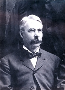 Marcus Baker, associated with the U. S. Coast and Geodetic Survey and the U.S.Geological Survey in the latter half of the Nineteenth Century.  Wrote Dictionary of Alaska Place Names among other accomplishments. (1849-1903.)