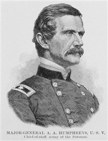 Major General Andrew A. Humphreys, U.S. Volunteers, Chief of Staff, Army of thePotomac.
