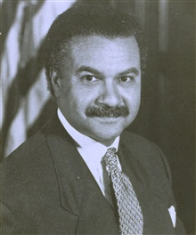 Ronald Harmon Brown, 1941 - 1996, thirtieth Secretary of Commerce.