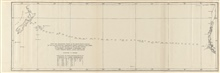 Track of the USS ENTERPRISE across the southern Pacific Ocean in 1885.At the time this line was run, it was the furthest south continuous east-westsounding line yet observed.