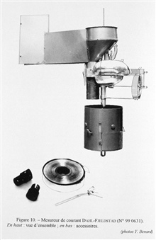 Figure 10. Dahl-Fjeldstad current meter - designed by assistant professor JonasEkman Fjeldstad of the University of Bergen in collaboration with the Norwegianengineer Odd Dahl.  It automatically punched its readings on a tin strip forlater reading an
