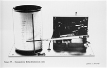 Figure 35.  A wind direction recording instrument offered by the firm of J.Richard in 1901.