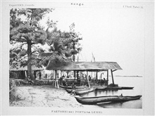The trading post at Ponta Lenha, up the Congo River.