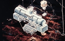 SEALAB III, last of the Navy's undersea habitats, circa 1969.
