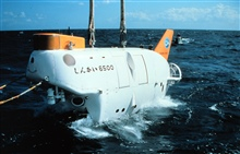 SHINKAI 6500 is rated to 6500 meters, deepest active sub in the world. .