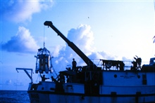 A dive bell support ship must be in a multi-point mooring to avoid dragging.