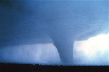 Tornado in mature stage.