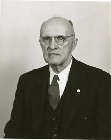 Walter D. Lambert, one of the C&GS; great geodesists.