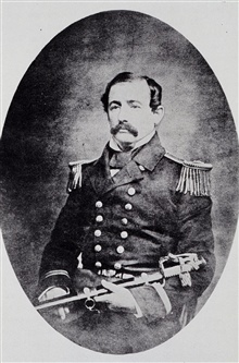 Commander Richard Wainwright 1817-1862.Brother-in-law of Alexander Dallas Bache.Served many years on Coast Survey.Died from disease on Mississippi River in 1862.