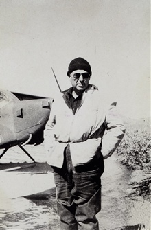 Sam White.As bush pilot.Sam White became one of the top bush pilots in Alaska in the 1940's and 1950's.