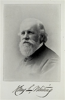 Henry Laurens Whiting.Considered to be the best of the Nineteenth Century topographers.Served under all Nineteenth Century Superintendents.