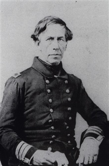 Charles Wilkes.Close friend of Ferdinand Hassler.Controversial naval officer