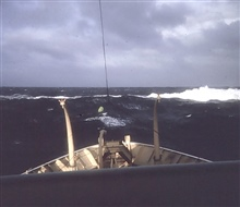 Coast and Geodetic Survey Ship SURVEYOR.In service 1960 - 1996.Pacific service.30' Wave in North Pacific.