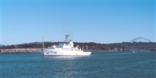 The NOAA Ship RONALD H. BROWN at Newport, Oregon