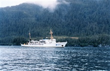 NOAA Ship RAINIER in Alaska.