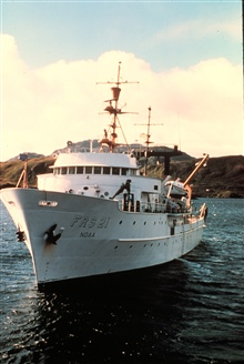 NOAA Ship MILLER FREEMAN.