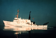 NOAA Ship DAVID STARR JORDAN.In service 1965 - .