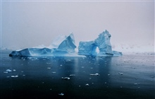Arches in icebergs off the Antarctic Peninsula