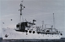 The Coast and Geodetic Survey Ship HYDROGRAPHER