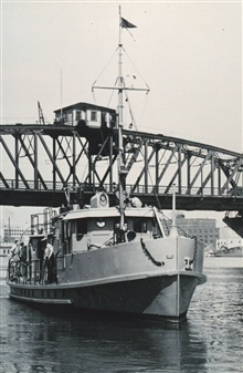 The Coast and Geodetic Survey Ship WESTDAHL at Portland, Oregon.