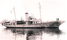 Coast and Geodetic Survey Ship WENONAH.  Used on Pacific coast and Alaska from1919 to 1923 before being returned to the Navy.