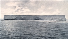 The first iceberg.  P. 10.In:  Scott's Last Expedition ...., 1913.  Dodd, Mead, and Company.  New York.Volume I.  Page 10.