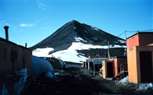 A scene at McMurdo Station.