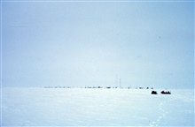 South Pole Station in the summer of 1968.