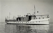 Coast and Geodetic Survey Ship WESTDAHL.In service 1929-1946.Pacific service