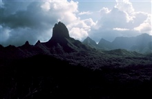 Volcanic mountains of Tahiti