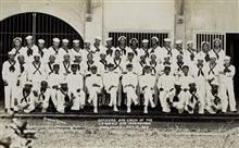Officers and crew of the MARINDUQUE.