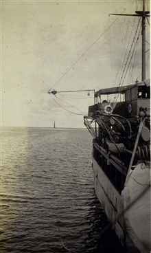 Mechanical sounding apparatus on the MARINDUQUE.
