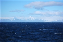South Georgia Island as seen from the NOAA Ship RON BROWN