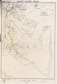 Map of the Hallett Glacier region showing Cape Hallett and Seabee Hook.