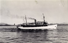 Coast and Geodetic Survey Ship SURVEYOR.In service 1917 -1956.Pacific service.Enroute to Seattle.