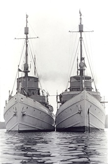 Coast and Geodetic Survey Ships PIONEER and GUIDE.