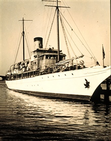 Coast and  Geodetic Survey Ship LYDONIA.In service 1919-1947.