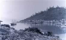 Coast and Geodetic Survey Steamer HASSLER at Fort Wrangell.